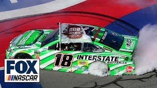 Kyle Busch claims 200th career NASCAR victory after an impressive Fontana run | NASCAR on FOX