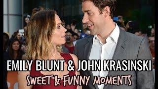 Emily Blunt & John Krasinski RELATIONSHIP GOALS | Sweet & Funny Moments