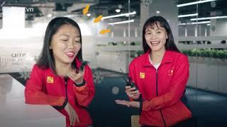 Chương Thị Kiều và Huỳnh Như dễ thương khi trả lời câu hỏi về đồng đội tuyển nữ Việt Nam