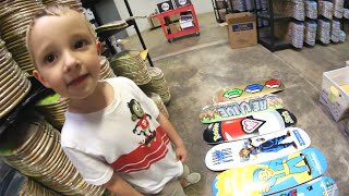 MY SON PICKED MY SKATEBOARD!