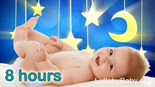 ✰ 8 HOURS ✰ Lullabies for babies to go to sleep ♫ MUSIC BOX ✰ Baby Lullaby Songs Go To Sleep