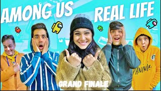 AMONG US IN REAL LIFE WITH MY FAMILY PART 4 | Rimorav Vlogs