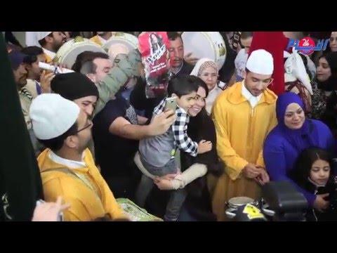 عيساوة , رقص و بهجة في حفل إستقبال حماسي لنجمة