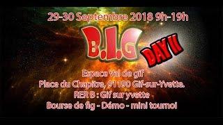 Annonce Big Day II : le 29-30 Septembre 2018  a Gif sur yvette