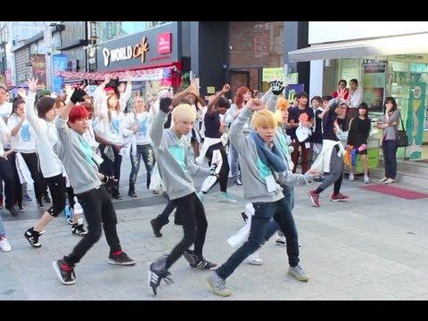K-Pop Flashmob in Seoul and Wonju! (K-Pop Festival in Gangwon 2013 Contestants)