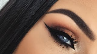 Autumn Leaves | Burnt Orange Smokey Fall Eye Makeup Tutorial