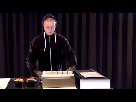 Andy Mannhart presents Livecookintable Buffet Zieher
