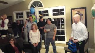 Surprise Birthday Wedding Proposal