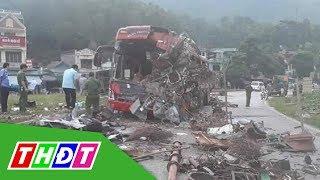Xuất hiện clip về tai nạn giao thông kinh hoàng ở Hòa Bình | THDT