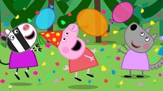 Peppa Pig Full Episodes | Wendy Wolf's Birthday | Cartoons for Children