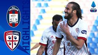 Crotone 0-2 Cagliari | Cagliari end winless run with victory at Crotone! | Serie A TIM