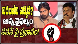 Prof Nageshwar: Where is Chiranjeevi...Impact on Pawan..