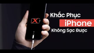 Cách khắc phục iPhone không sạc được do lỗi tiếp xúc