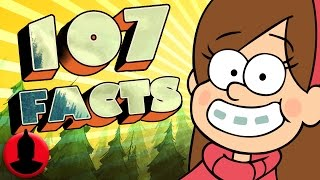 107 Gravity Falls Facts YOU Should Know! | Channel Frederator