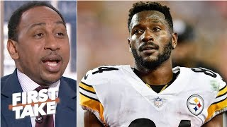 Steelers should trade Antonio Brown to the Buccaneers for DeSean Jackson – Stephen A. | First Take