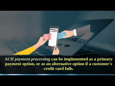ACH payment processing  for High Risk Businesses by Connected.co