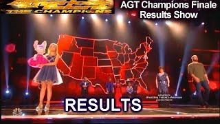 RESULTS Top 5 Darci Lynne  Crum Ramos Susan Boyle  America's Got Talent Champions Finale Results AGT