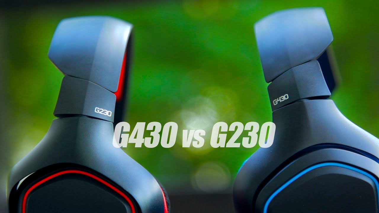 Logitech G430 Vs G230 Headset Review