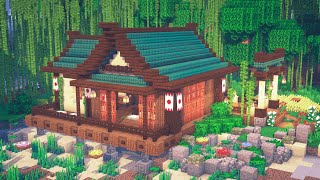 Minecraft   How to Build a Japanese House
