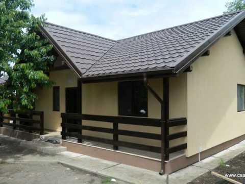 Proiecte case tip modele de case si proiecte planuri case for Case din lemn ieftine