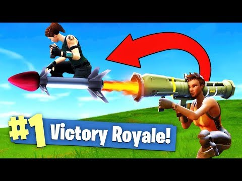 GUIDED MISSILE *ROCKET RIDING* In Fortnite Battle Royale!