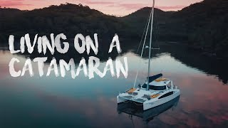 CATAMARAN SAILING: We Moved Onto A Catamaran! | Sailing Ruby Rose