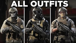 All Operator Outfits & Uniforms (UPDATED) - Call of Duty: Modern Warfare
