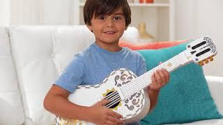 Mattel's Disney/Pixar Coco Toy Guitar Demo