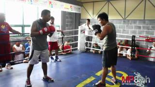 Manny Pacquiao - Team Pacquiao Sparring - Lito Vs. Aris