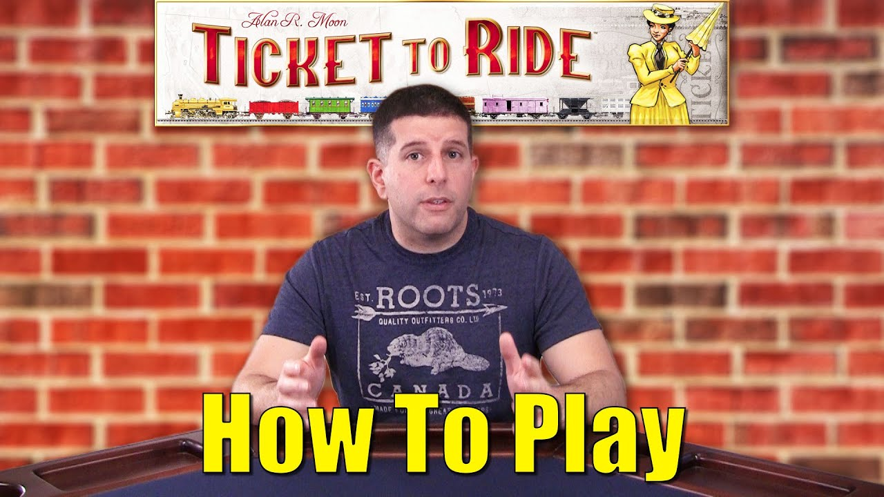 how to play ticket to ride youtube