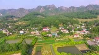 Cảnh đẹp nông thôn Việt Nam qua flycam và giọng hát củ chuối
