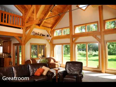 Hybrid Timber Frame Home