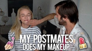 MY POSTMATES DOES MY MAKEUP