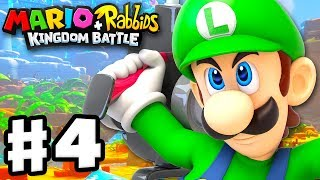 Mario + Rabbids Kingdom Battle - Gameplay Walkthrough Part 4 - World 2: Sherbet Desert!