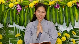 KINH VU LAN BÁO HIẾU.Trì tụng: Sa môn Thích Vạn Mãn cùng với Phật Tử nghệ sỹ Như Huỳnh