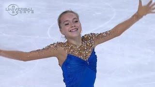 Elena Radionova wins 2014 Bompard Trophee - Universal Sports