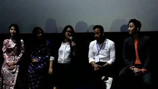Ngô Thanh Vân 'sàm sỡ' Ninh Dương Lan Ngọc tại họp báo phim Cô Ba Sài Gòn (8/11/2017)
