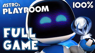 Astro's Playroom FULL GAME 100% All Trophies (PS5) Platinum