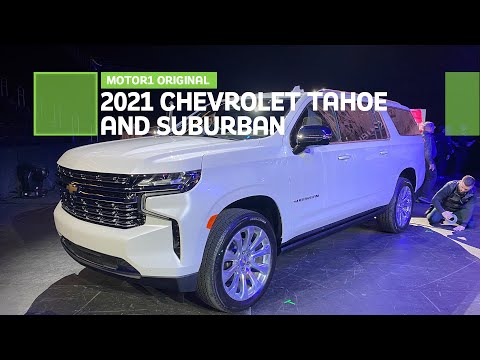 2021 Chevrolet Tahoe and Suburban: First Look