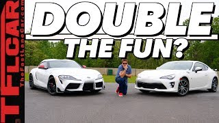 Is The New 2020 Toyota Supra More Than a Rebadged BMW Z4? We COMPARE it to the Toyota 86 To Find Out