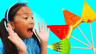 Learn Colors with Fruits Song | Wendy Nursery Rhymes & Kids Songs