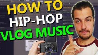 How to make Old School Hip-Hop/Vlog Music - FL Studio with Loopcloud 3.0