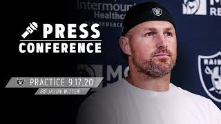 Jason Witten Knows Week 2 Is a Great Opportunity vs. Saints | Las Vegas Raiders