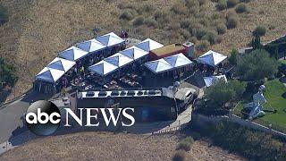 Chris Brown's yard sale l ABC News