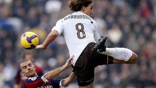 Zlatan Ibrahimovic - King of Backheels