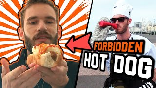 Making A Hot Dog From My Old Job - Cooking With Pewdiepie #2