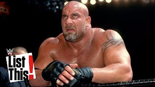WWE Top 5 rivales de Goldberg olvidados