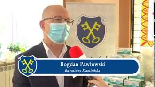 FBSerwis Kamieńsk przekazała na ręce Burmistrza Kamieńska środki