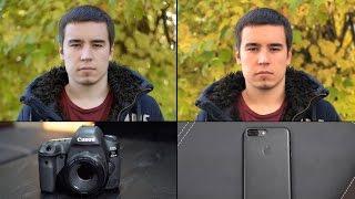 iPhone 7 Plus Portrait Mode vs. DSLR