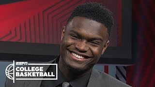 Zion Williamson: Wooden Award is 'humbling,' unsure on declaring for NBA draft | College Basketball